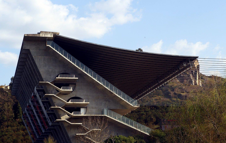 General views of the Estadio Municipal de Braga on March 10, 2011 in Braga, Portugal.