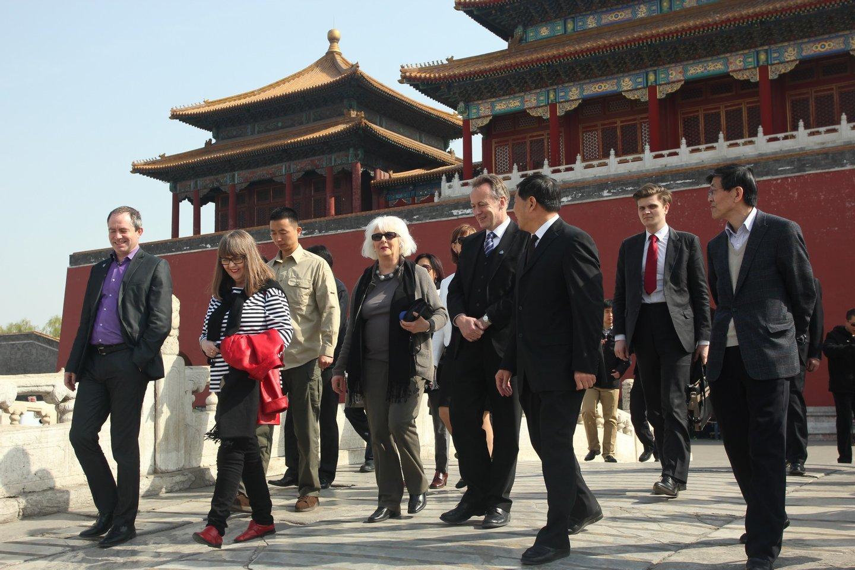 JL og JS í Beijing