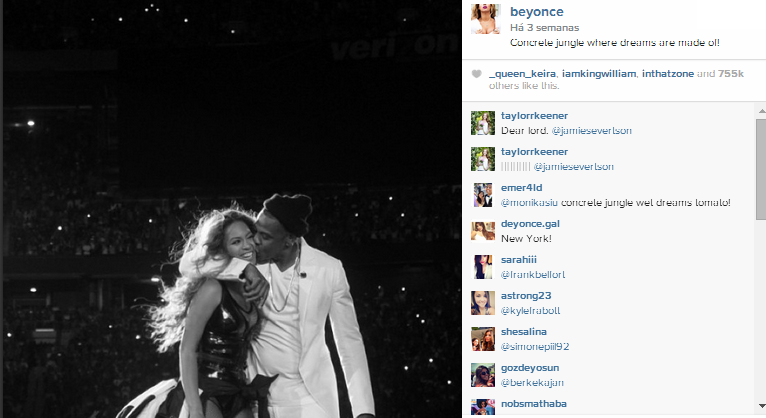 Beyoncé Instagram 4