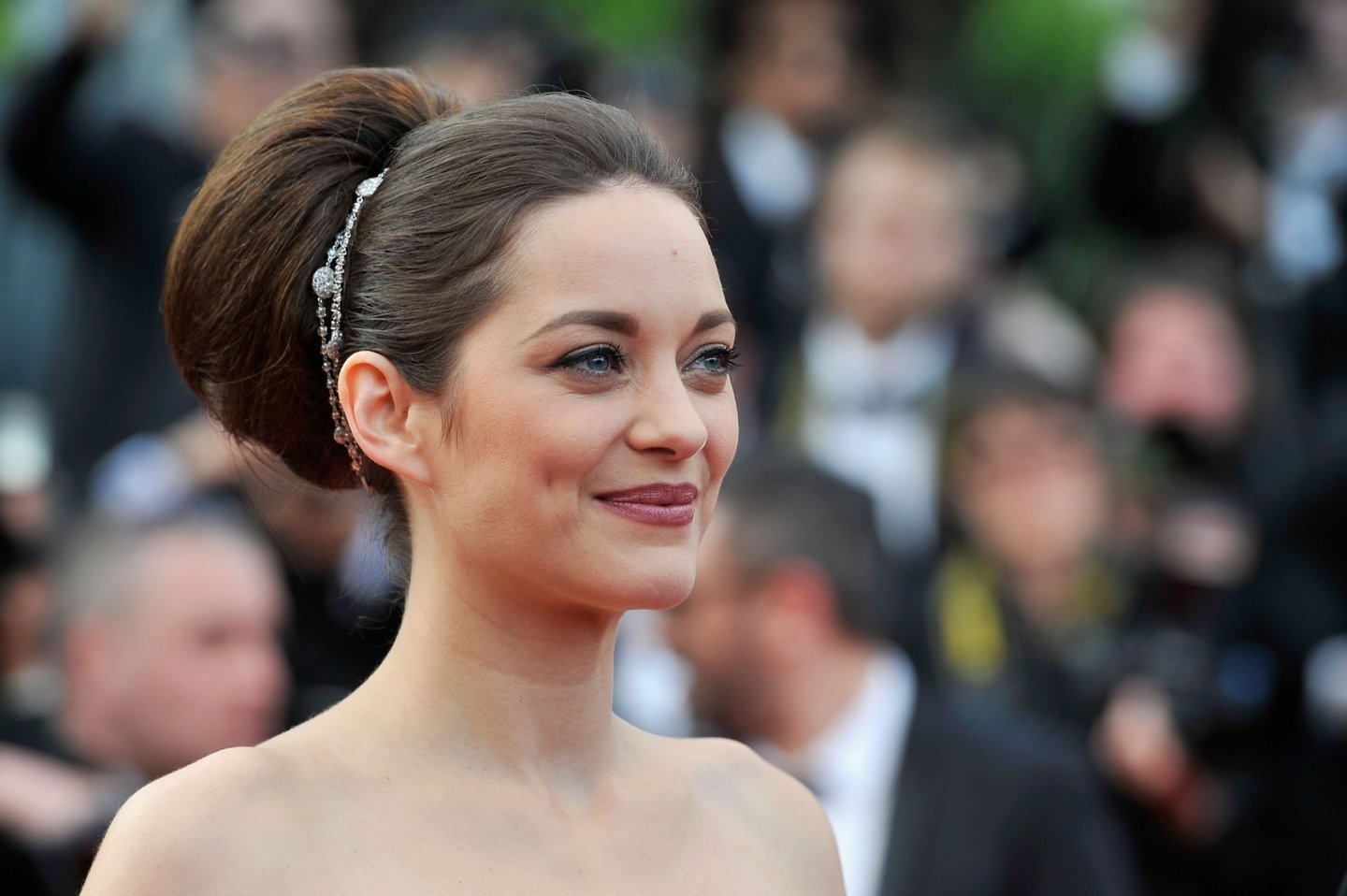 """attend the """"De Rouille et D'os"""" Premiere during the 65th Annual Cannes Film Festival at Palais des Festivals on May 17, 2012 in Cannes, France."""