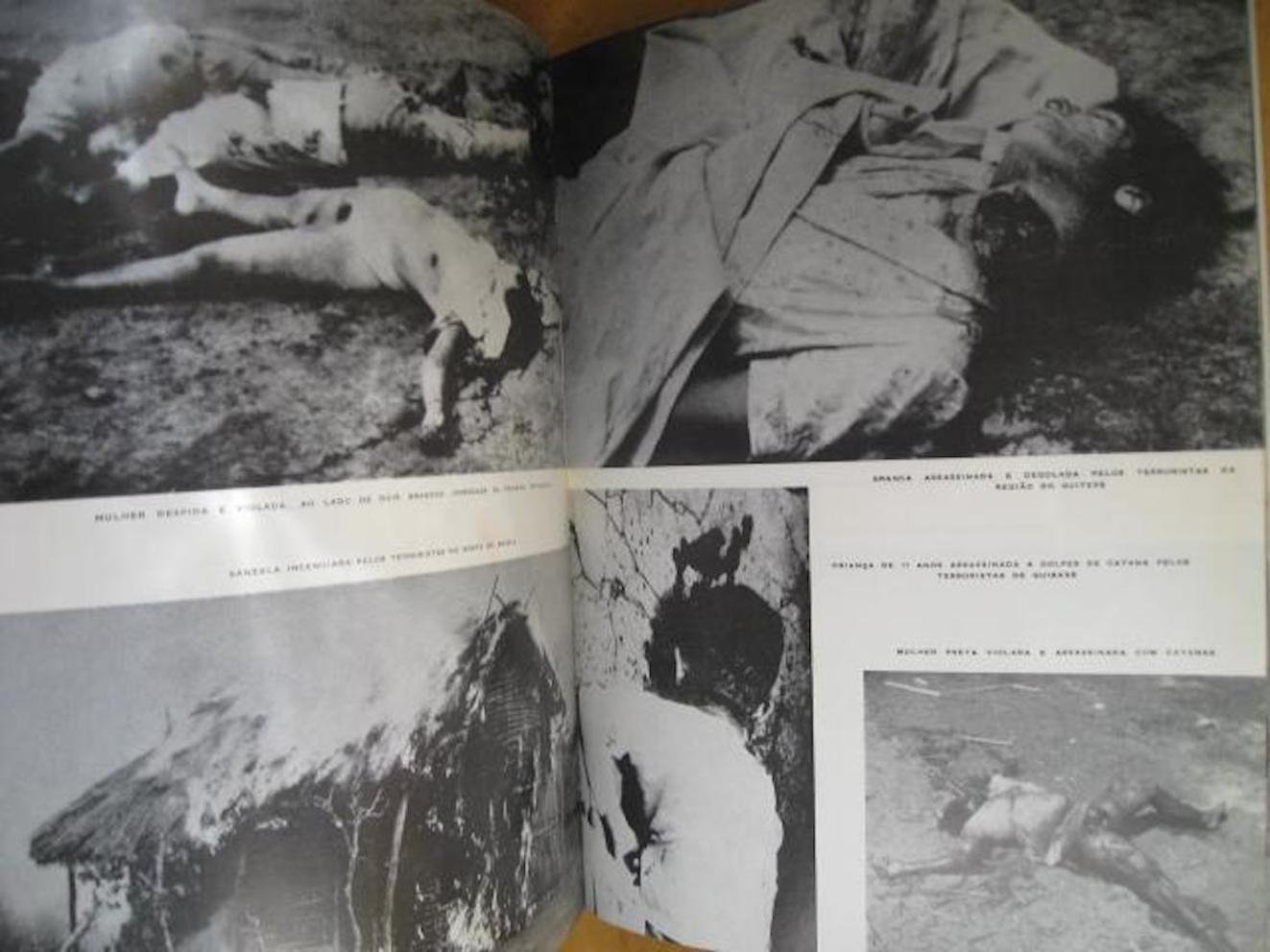 Angola - Capa do livro 'ANGOLA 1961', de Amândio César (Edição Verbo - Lisboa 1961) 1.ª edição (02)
