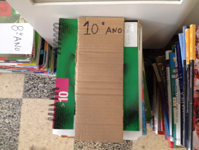 Livros do 10º ano na Papelaria miq