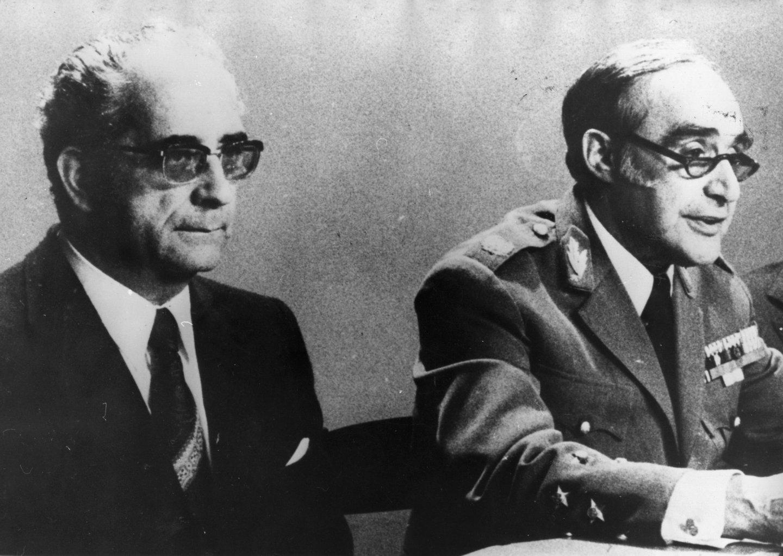 Depois do 28 de Setembro de 1974, Spínola é obrigado a passar o poder a Costa Gomes