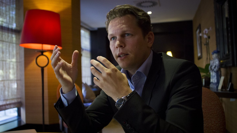 Gijs Nagel, diretor da DeGiro.