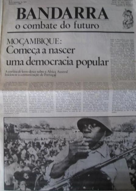 Moçambique e Angola - Jornal 'BANDARRA', n.º 02, de 28 de Setembro de 1974 (01)