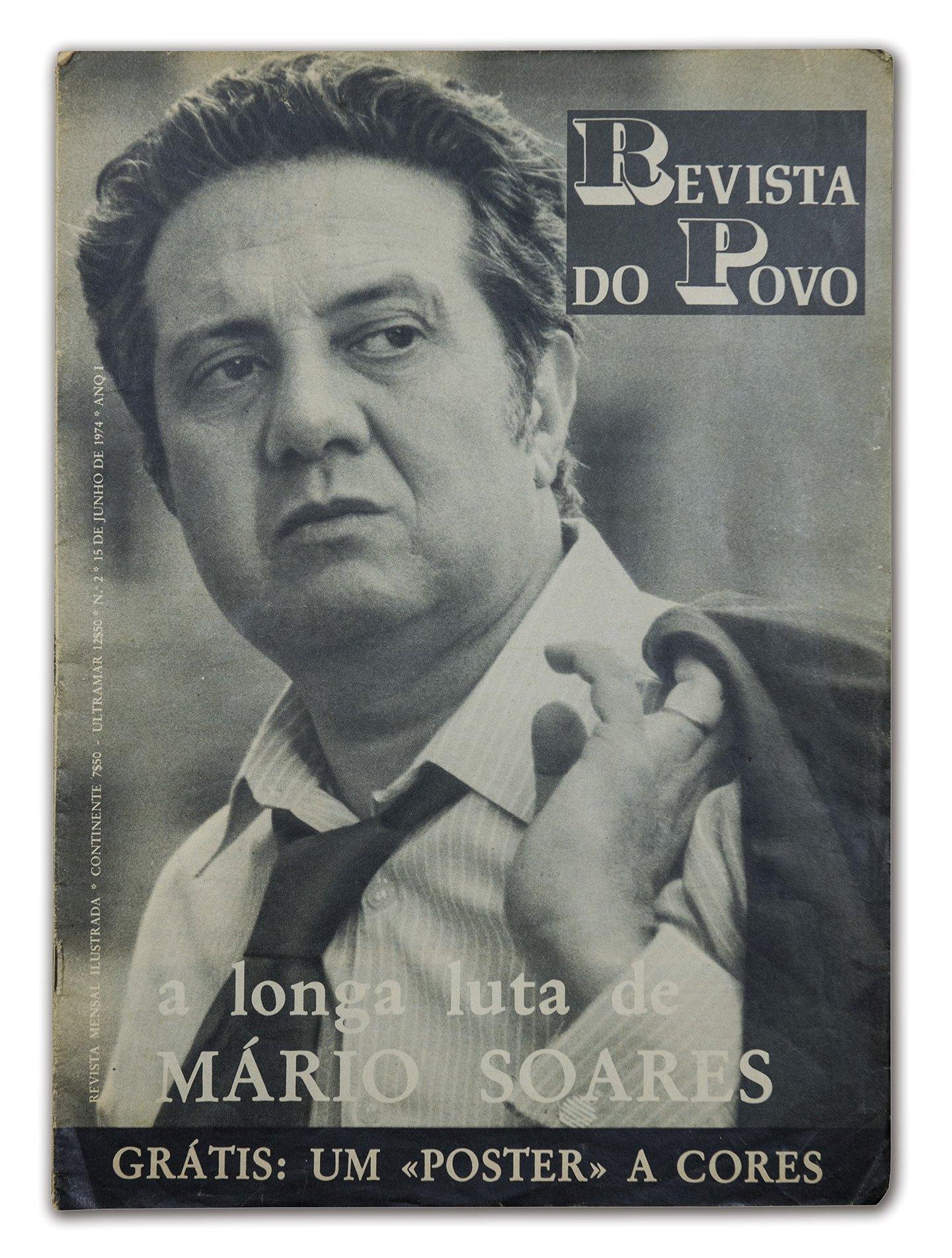 Mário Soares na Revista do Povo