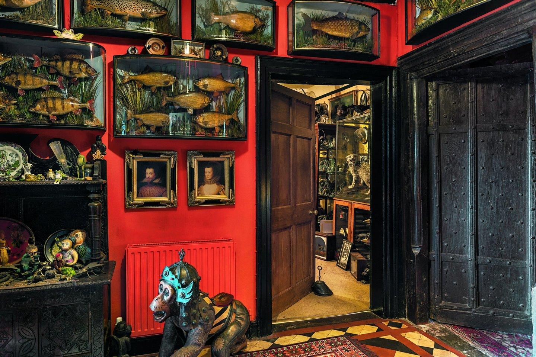 """""""Hall"""" de entrada da casa Bournes - Oskar Proctor"""