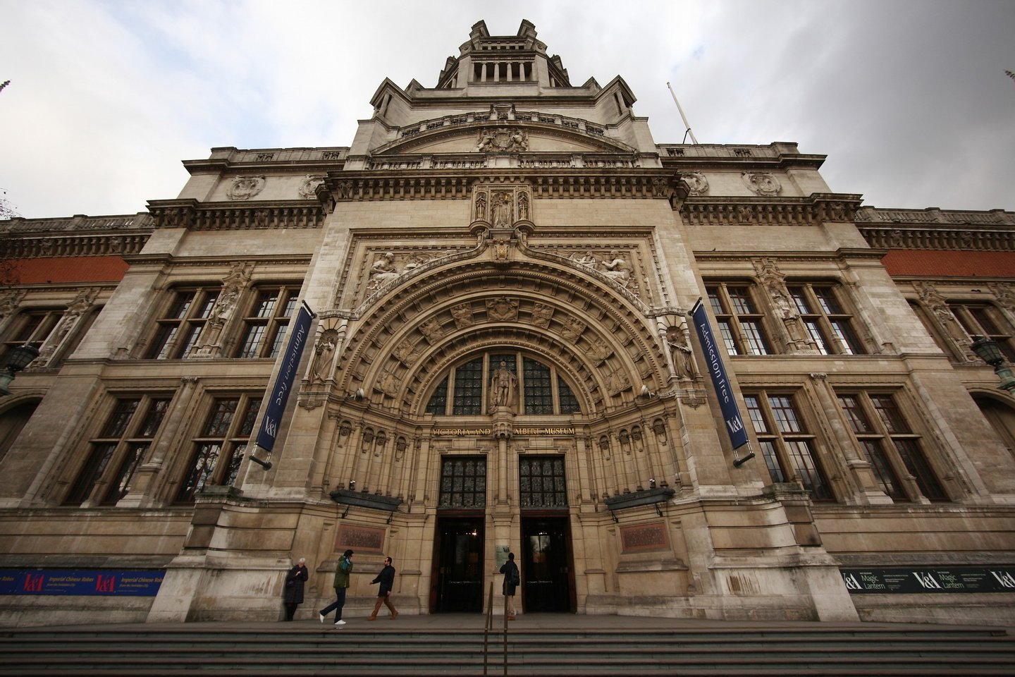 LONDON, ENGLAND - FEBRUARY 16: The Victoria & Albert Museum on 16, February 2011 in London. (Photo by Peter Macdiarmid/Getty Images)