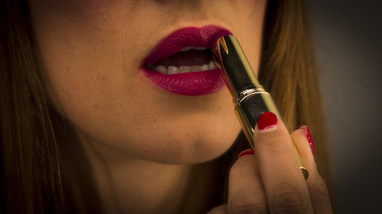Make-up, Inês Franco, maquilhagem, pincel, batom,