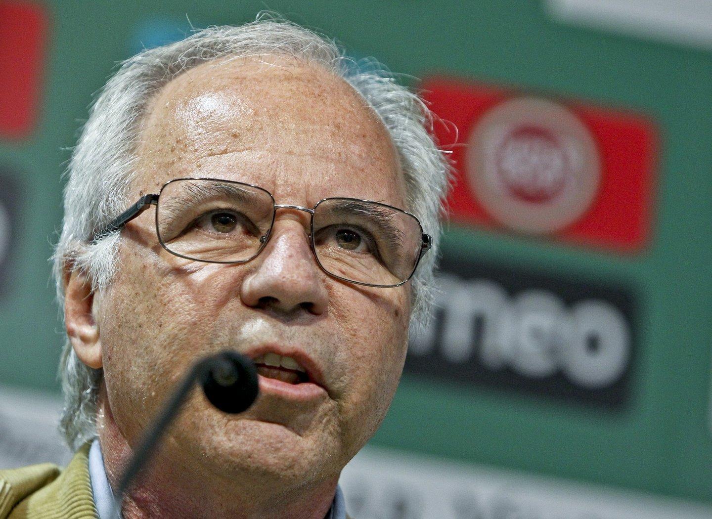 Lisboa: Apresenta??o novo treinador do Sporting Vercauteren