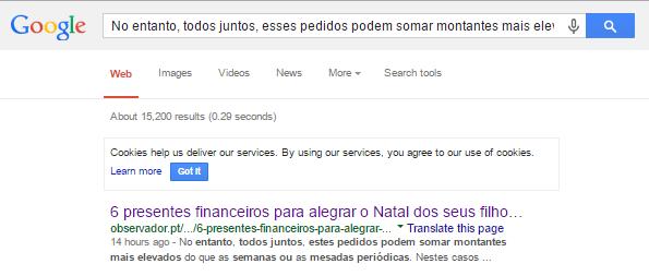 Pesquisa Google 1