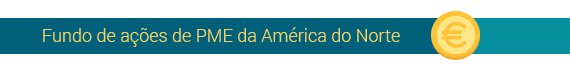 Fundo de ações de PME da América do norte