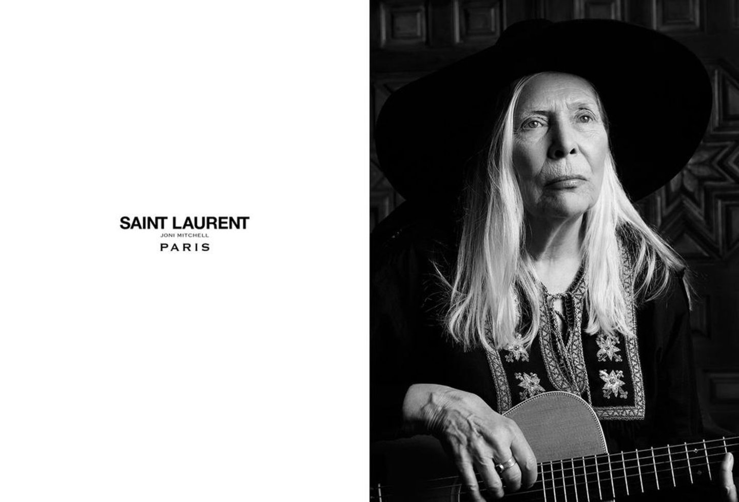 Joni Mitchel Saint Laurent
