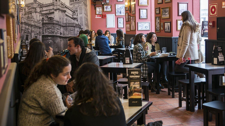 100 montaditos, tapas, restaurante espanhol,
