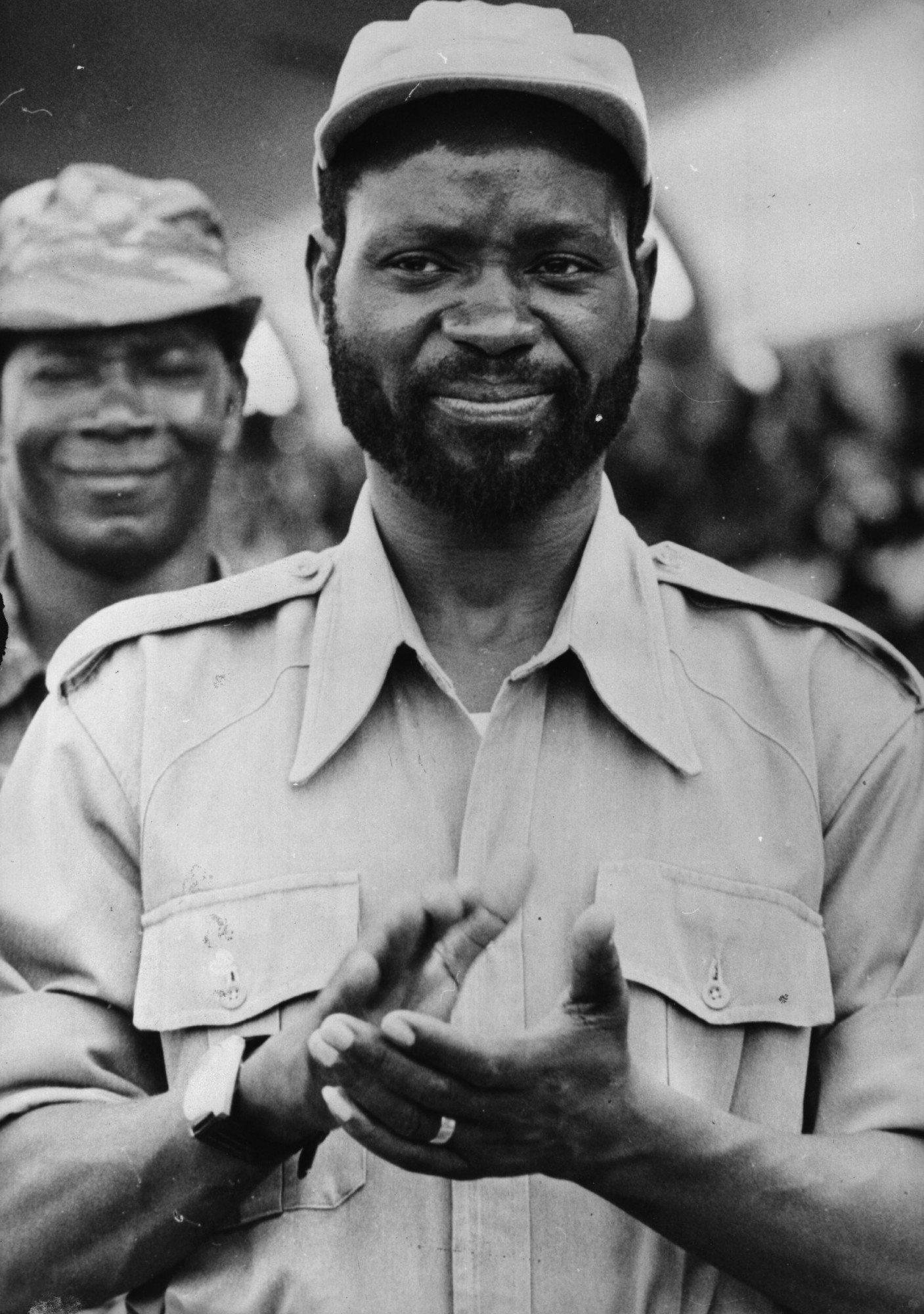 Samora Moises Machel levou para as negociações uma cassete que deixou embaraçada a e sem argumentos a delegação portuguesa