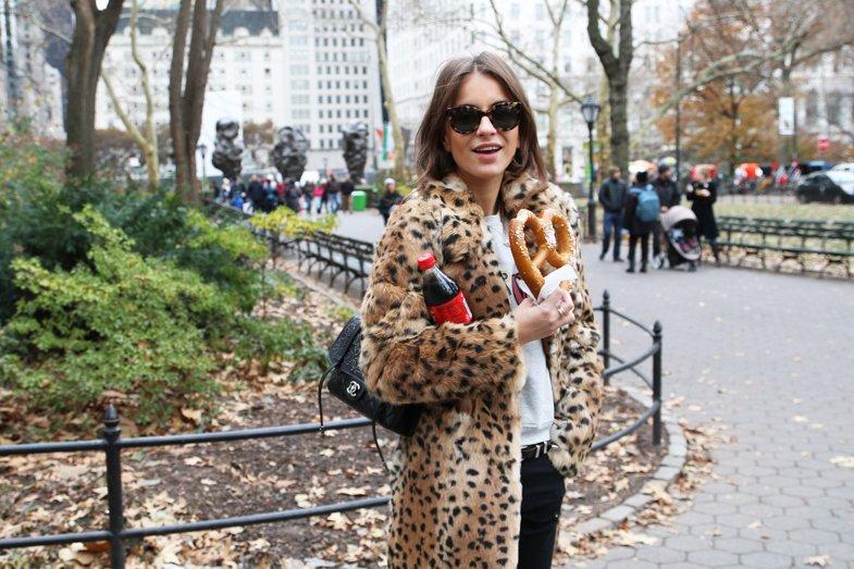 Lizzy van der Ligt pelo leopardo