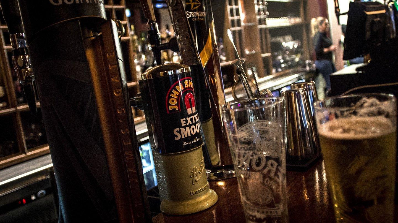 The George, Public House, pub, Pub, bar, noite,