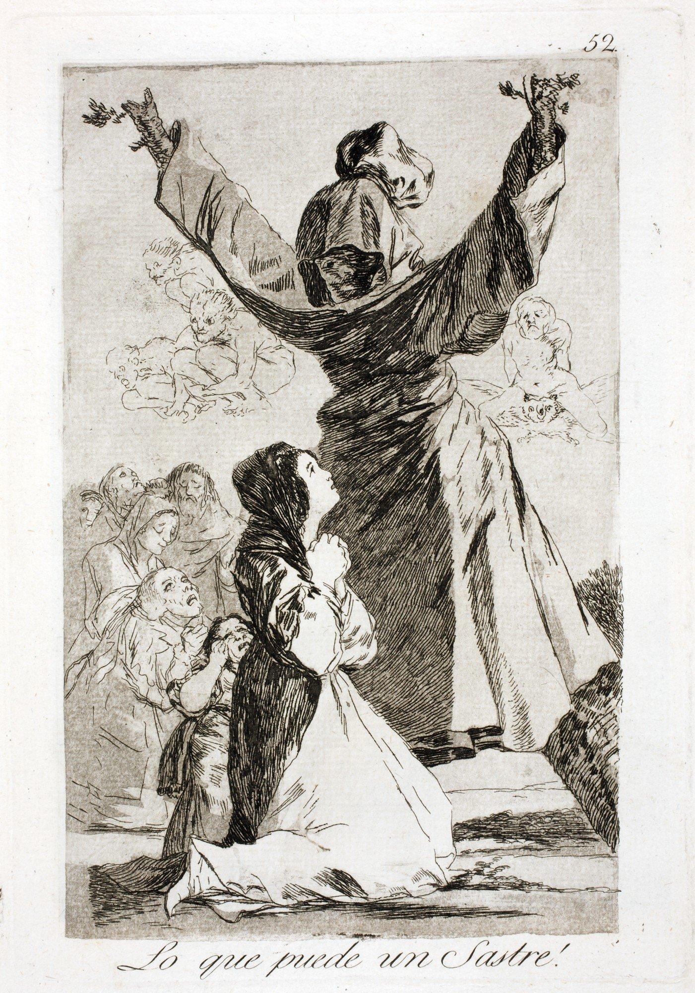 Os 80 caprichos de Goya mostram-se em Portugal – Observador