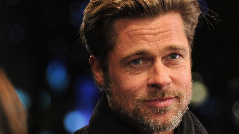 PARIS - NOVEMBER 29: Brad Pitt attends the 'Megamind' Paris premiere at Cinema UGC Normandie on November 29, 2010 in Paris, France. (Photo by Pascal Le Segretain/Getty Images)