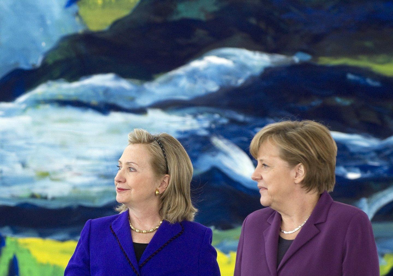 A liderança de Angela foi posta à prova durante os piores anos da crise financeira global.