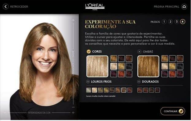app cabelos