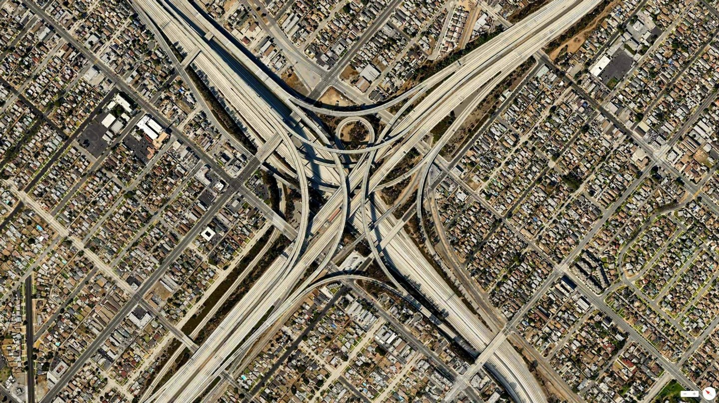 daily overview - Gravelly Hill Interchange