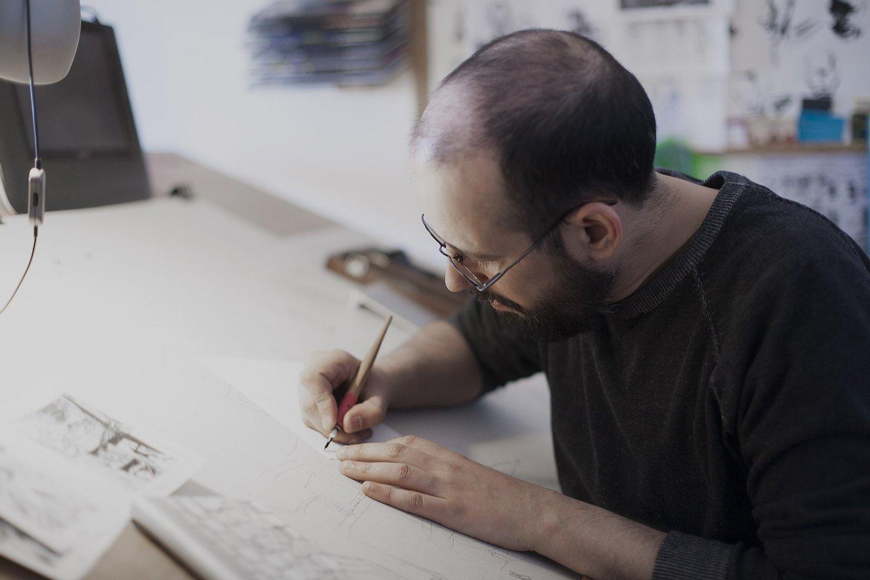 ilustrador, jorge coelho, arte,