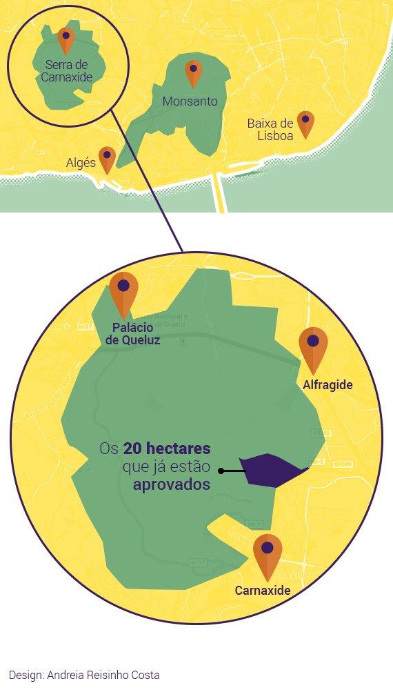 Mapa-Serra-Carnaxide