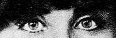 Os incriveis olhos de Isabel da Nóbrega nos seus anos de juventude