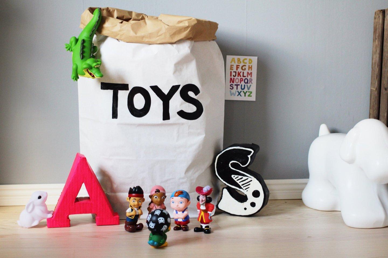 saco de papel Toys This & That