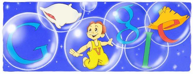 """O Vitinho teve direito a """"doodle"""" quando fez 25 anos, a 2 de fevereiro de 2011"""