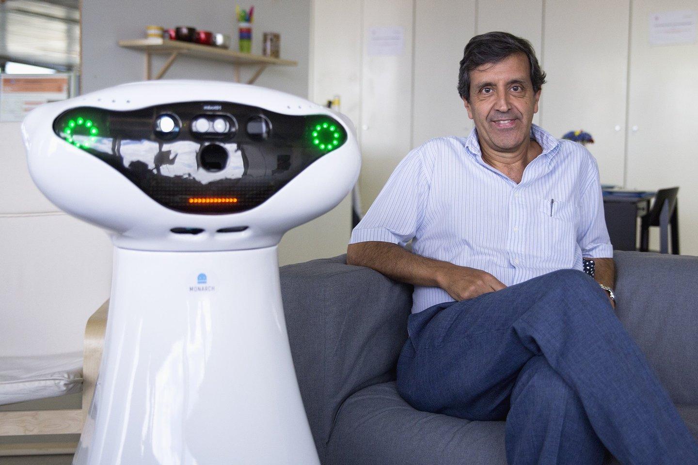 Professor Pedro Lima, Instituto superior tecnico, IST, Mara dionisio, entrevista,