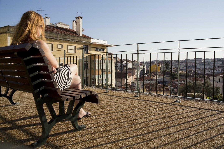 """Um dos novos segredos de Lisboa"""" Abriu o jardim da Cerca da Graça"""