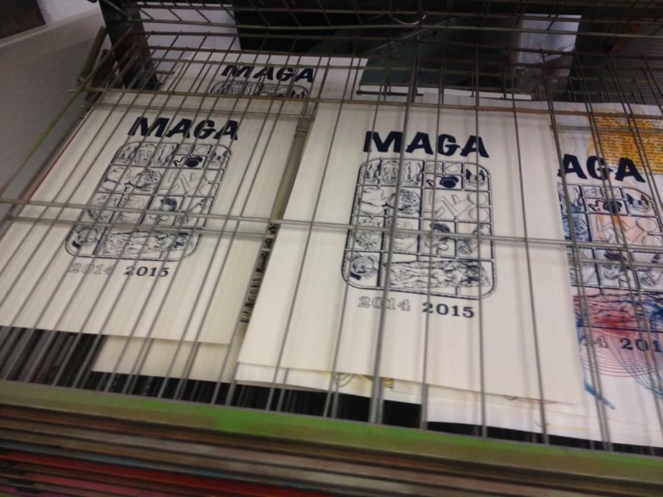 Maga, ensaios sobre BD e edição Independente pela editora Clube do Inferno