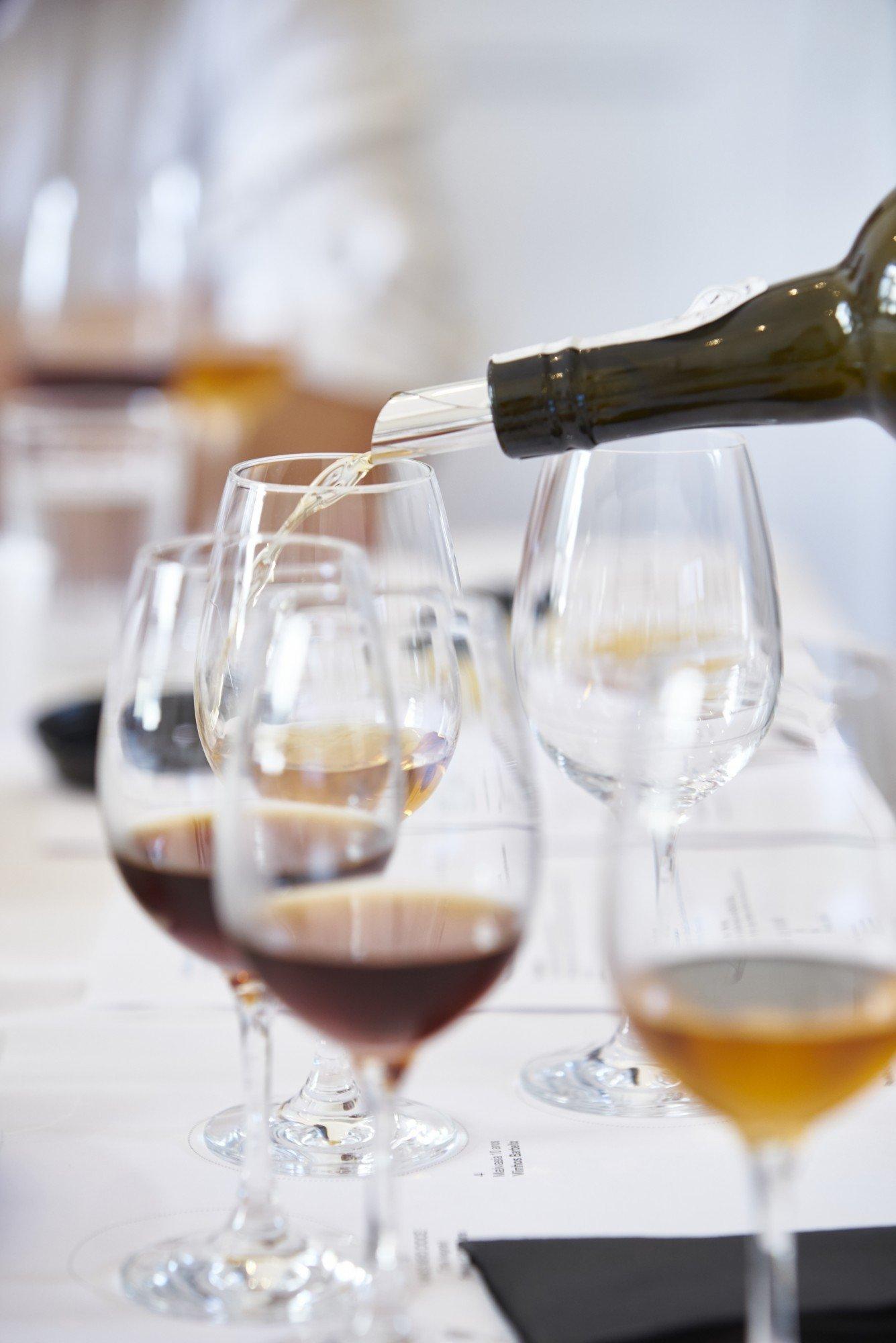 Provas vinho madeira