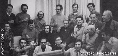 Foto da Fundação do PS, 1973