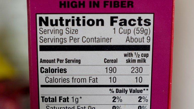 Há uma calculadora de calorias que lhe diz como ficar em..