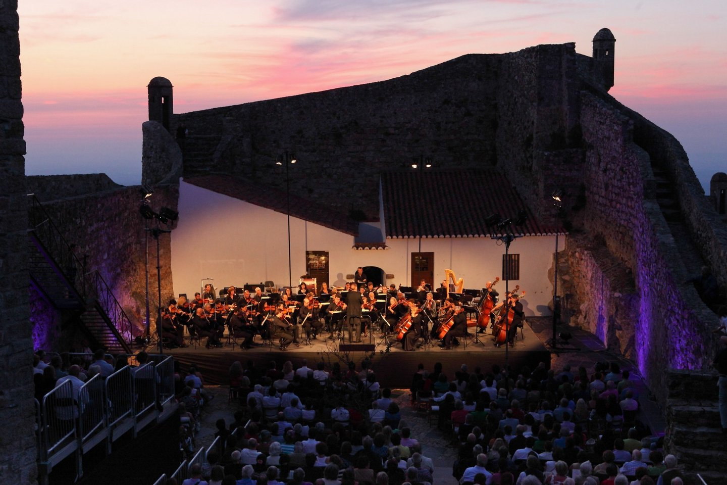 Marvão, 26/07/2014 - Concerto da Orquestra Gulbenkian com a soprano Juliane Banse, no âmbito do Festival de Marvão  ( Pedro Martins/Global Imagens )