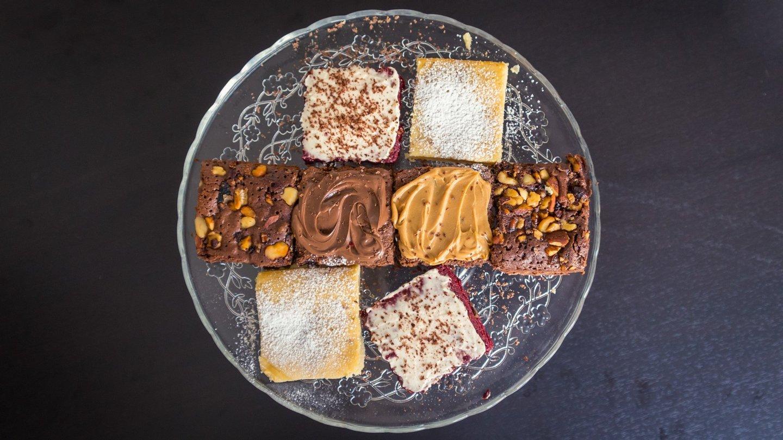 lx brownie, bolos, brownies,