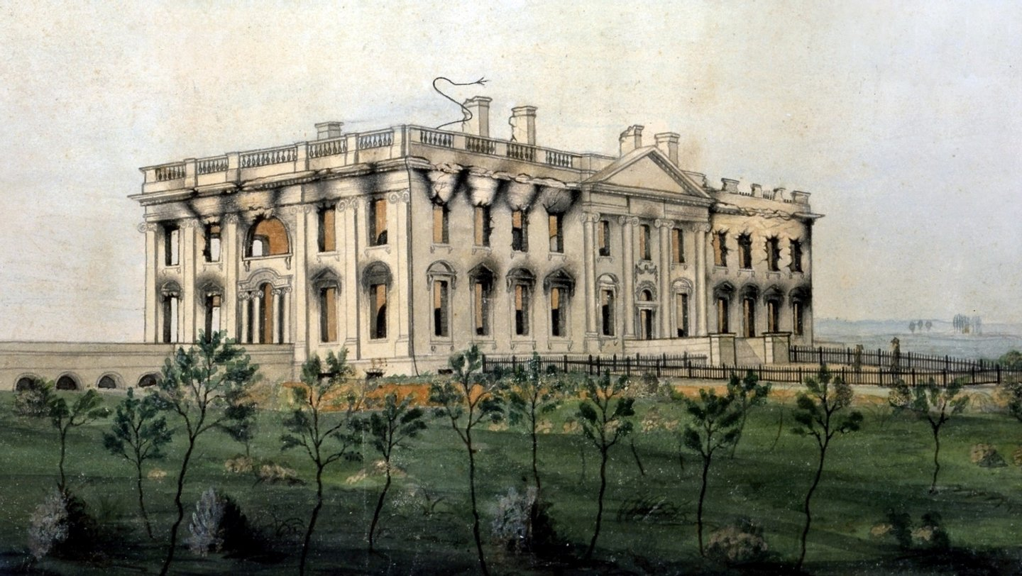 The_President's_House_by_George_Munger,_1814-1815_-_Crop