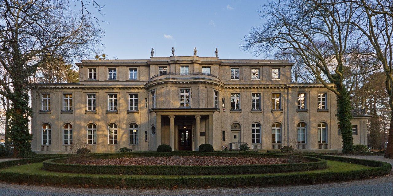 Edifício onde se realizou a conferência de Wannsee, nos arredores de Berlim