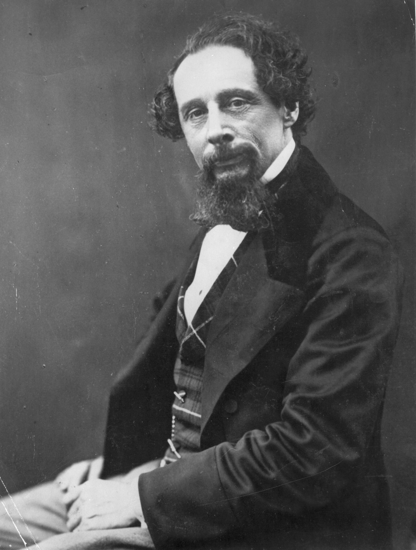 black, &, white;format, portrait, ;male;facial, hair;Roles, &, Occupations;Personality;British;English;P, 1983, BOX, 301, 1/2;P/DICKENS/CHARLES,