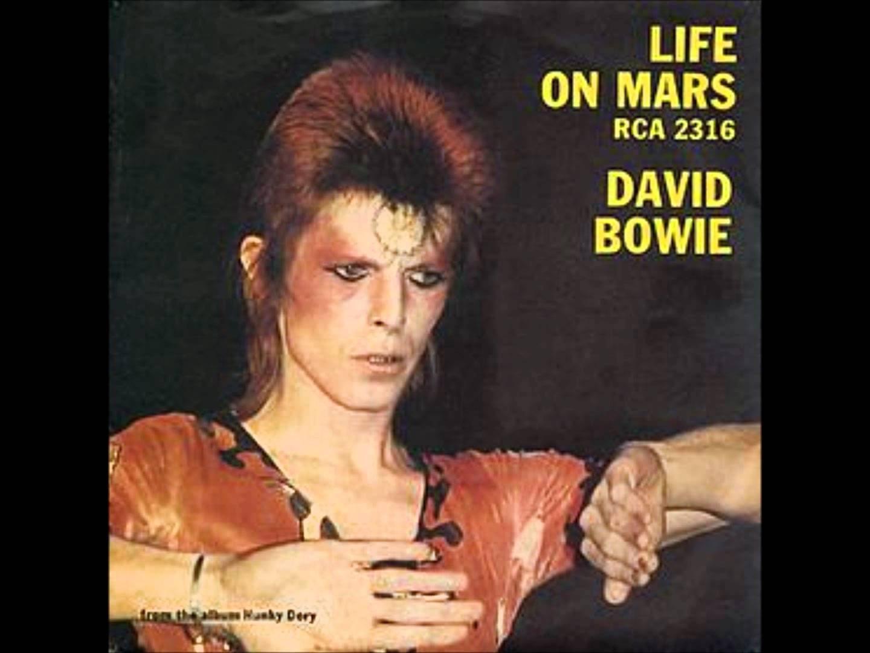 Life on Mars? pertence ao álbum Hunky Dory de David Bowie, 1971