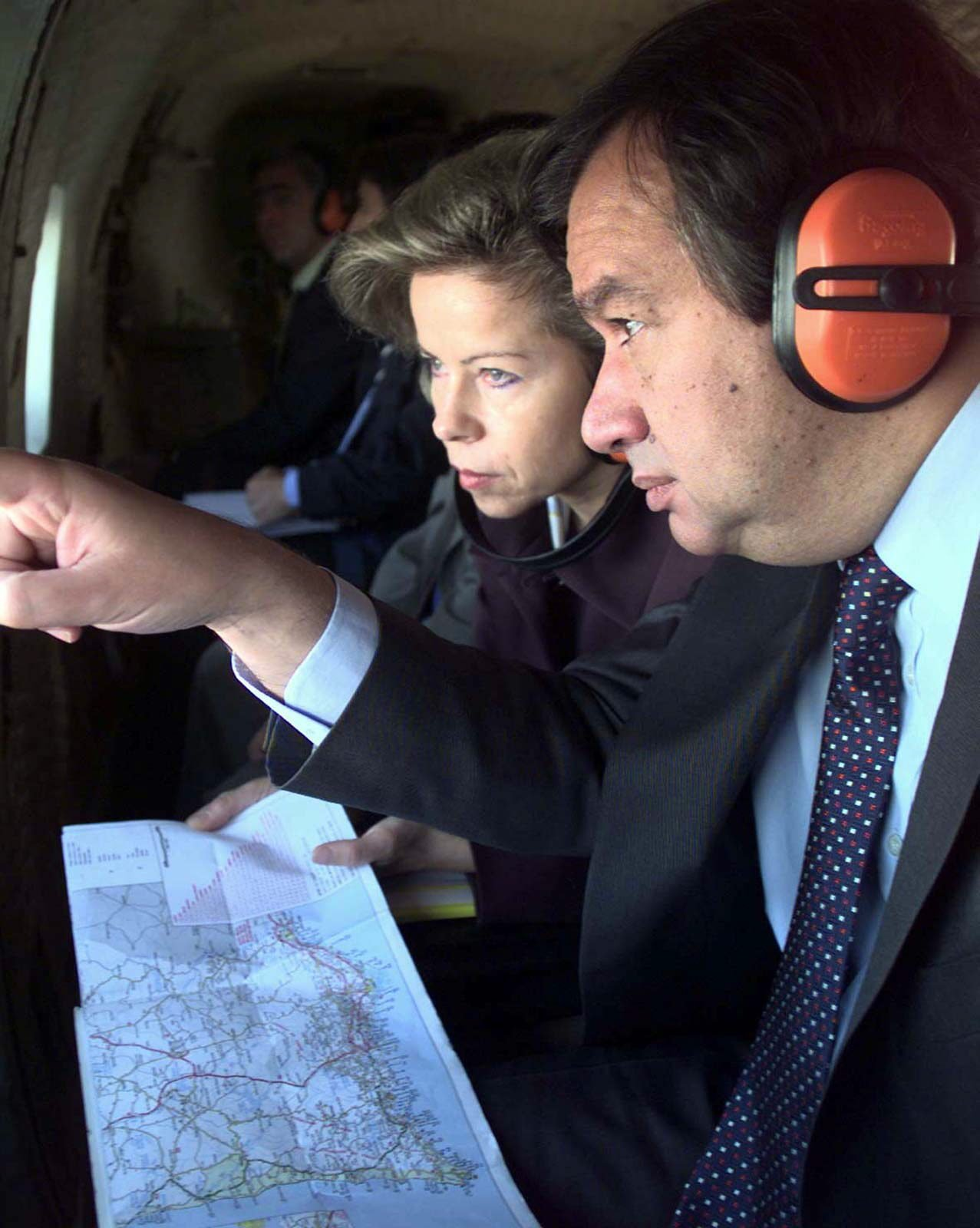 Maria de Belém e António Guterres