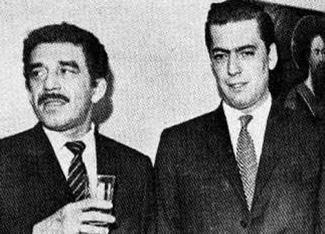 Mario Vargas Lhosa e Gabo, no tempo em que eram amigos