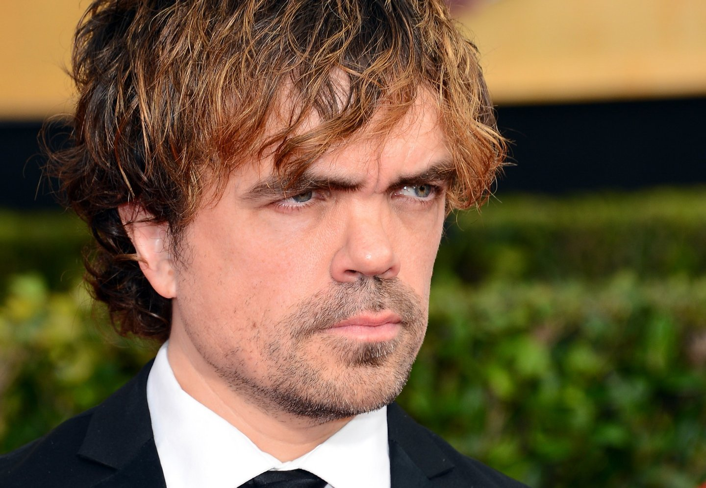 LOS ANGELES, CA - JANUARY 18: Actor Peter Dinklage attends the 20th Annual Screen Actors Guild Awards at The Shrine Auditorium on January 18, 2014 in Los Angeles, California. (Photo by Ethan Miller/Getty Images)