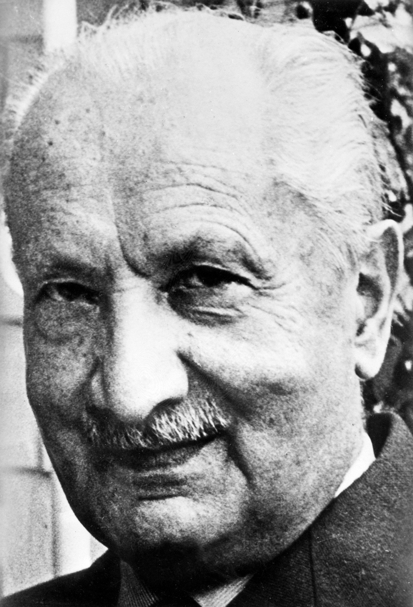 UNDATED: An undated picture shows famous German philosopher Martin Heidegger (1889-1976). (Photo by AFP/Getty Images)