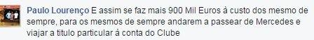 Benfica - cartão de sócio 4