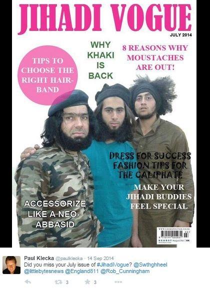 jihadi vogue
