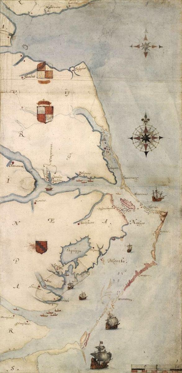 Roanoke_map_1584